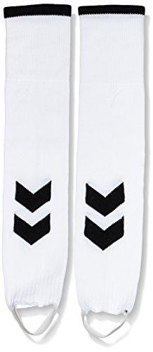 Hummel Unisex - Kinder Fußballsocken Fundamental Fb Footless, white/black, 1, 22-138-9124