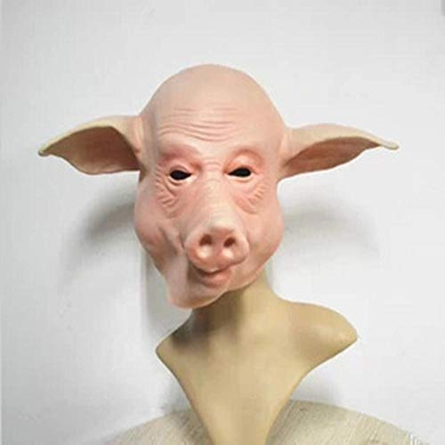 Rwdacfs Halloween mask,Super Cute Pig mask Animal mask