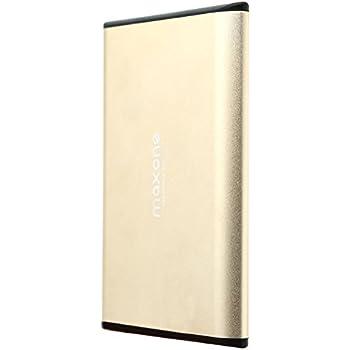 6,3 cm Ultra fin disque dur externe portable USB 3.0 pour ordinateur portable/de bureau/Xbox One/PS4 (320GB, Gold)
