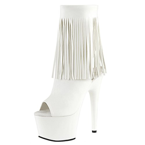 Heels-Perfect, Bottes pour Femme Weiss (weiss)