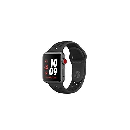 Apple Watch Nike+ Reloj Inteligente Gris OLED Móvil GPS (satélite) - Relojes Inteligentes (OLED, Pantalla táctil, GPS (satélite), Móvil, 28,7 g, Gris)