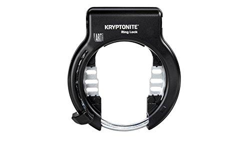 Kryptonite Rahmenschloss+Halter (SCHL. abz.) Fahrradschloss, Black, Unisize