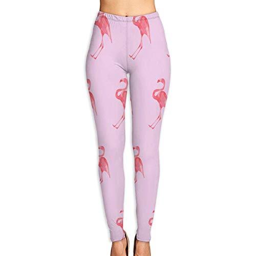 VAICR NCRSPIC Strumpfhosen Hosen,Personalized Beautiful Flamingo Bird Women's Printed Leggings Pants For Sports Yoga Workout Gym Running -