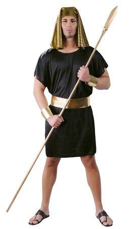 ¡Desde la tierra de los faraones! Con este disfraz de Egipcio Abasi para hombre te transformarás en uno de los habitantes de Egipto. Las fiestas de Halloween, Carnaval o Temáticas son perfectas para lucir tu porte egipcio.