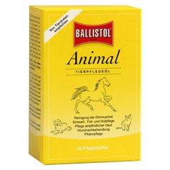 Vet BALLISTOL animal. Lavaggio panni 10 pcs