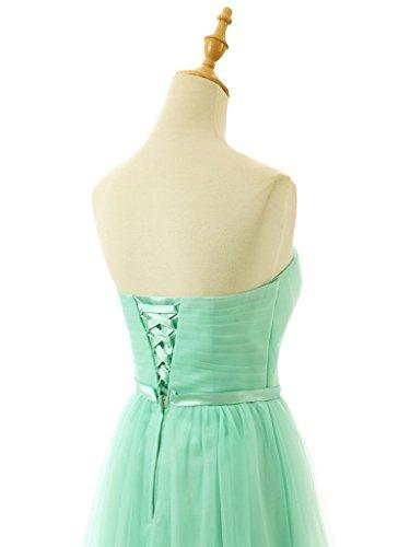 ... Vantexi Damen Trägerlos Tulle Lange Abendkleid Ballkleider Lavendel ...