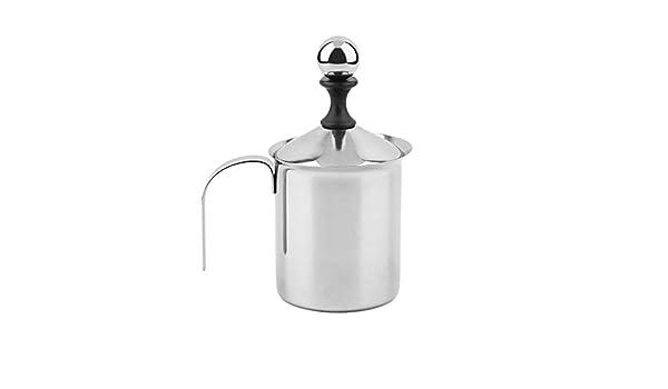 vetro Montalatte elettrico schiumatore per il latte elettrico montalatte a batteria latte cappuccino foam maker frullato frullatore frullatore bacchetta lanciatore grande capacit/à tazza contenitore