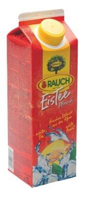 Rauch Eistee 1l, Pfirsich - 6 x 1l