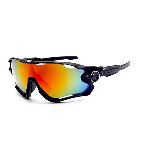 FGlasses Polarisierte Sport-Sonnenbrille für Männer Frauen Radfahren Laufen Fahren Angeln Golf-Baseball-Brille