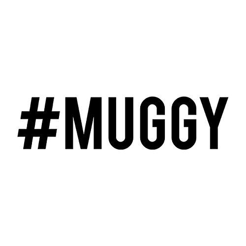 Love Island Hashtag Muggy Mike Black Men's T-Shirt White