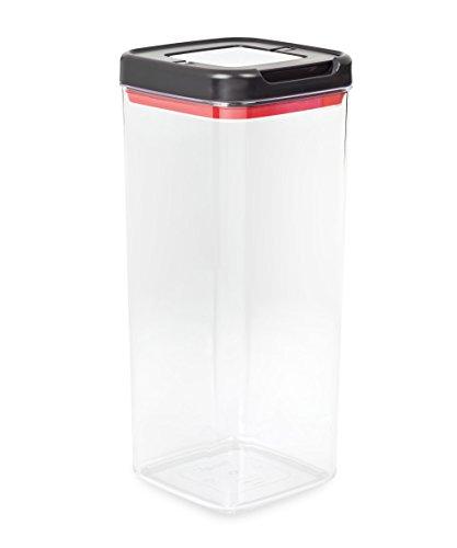 Tefal K2260614 - Dry Storage Ingenio, Carré, 3.7 L, Plastique, Noir