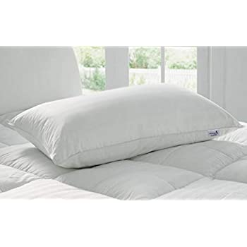 "Kuber Industries Luxurious 1 Piece Microfibre Pillow Filler - 16""x24"", White - CTKTC22178"