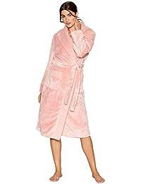 4130621387 J Jasper Conran Womens Light Pink Waffle Trim Dressing Gown
