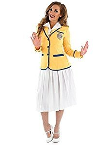 Holiday Camp Hostess Adult Fancy Dress Costume - S to 3XL