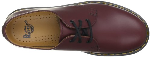 Dr. Martens 1461 59, Unisex Adult Derby Chaussures richelieu à lacets Rouge (Cherry Red Smooth)