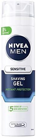 NIVEA MEN Sensitive Shaving Gel, Chamomile & Hamamelis, 2