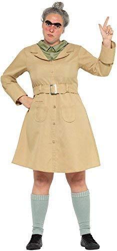 Roald Tag Dahl Kostüm - Fancy Me Damen Roald Dahl Miss Knüppelkuh Matilda Welttag des Buches-Tage-Woche Lehrer Erwachsene Kostüm Kleid Outfit - UK 16-18