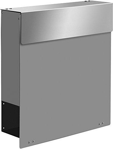 frabox Design Briefkasten Namur Special Edition, RAL 9007 Graualuminium