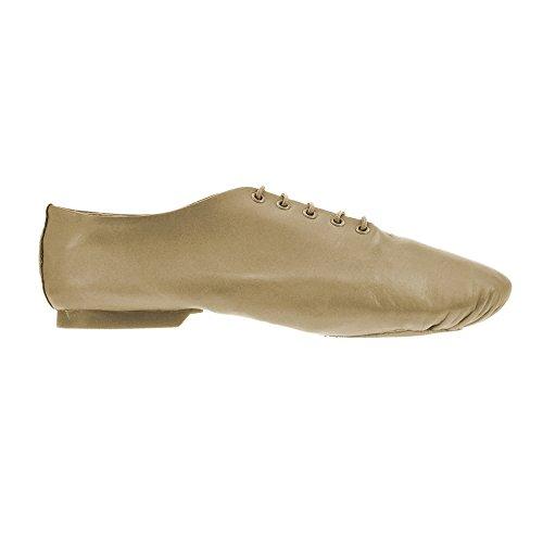 Preisvergleich Produktbild Starlite Tan Effect Jazz Shoe Split Sole 7.5 L