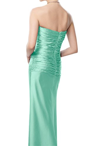 Gorgeous Bride Hochwertig Traegerlos Etui Lang Taft Spitze Mit Bolero Abendkleid Brautmutterkleider Ballkleid Style B-Grape