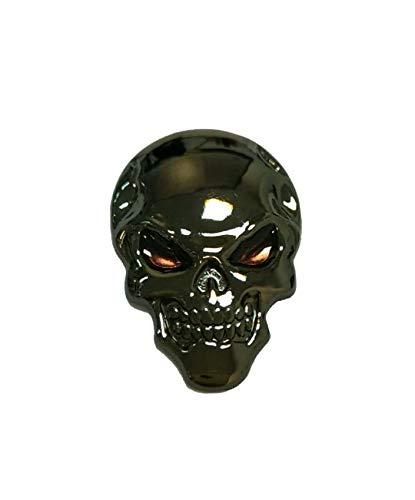 Soccik Auto 3D Aufkleber Persönlichkeit Auto Abziehbild Motorrad 3D Emblem Badge3D Schädel Aufkleber Skelett Totenkopf Knochen Form Aufkleber DIY Dekoration Zubehör