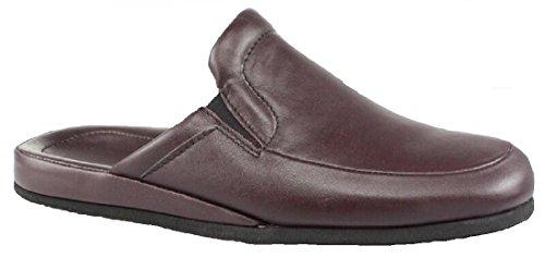 Beck , chaussons d'intérieur homme Bordeaux