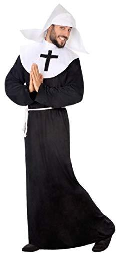 Nonnen Frech Kostüm - Herren-Kostüm, frech, freche Nonne, lustig, religiöses Hirsch-Kostüm