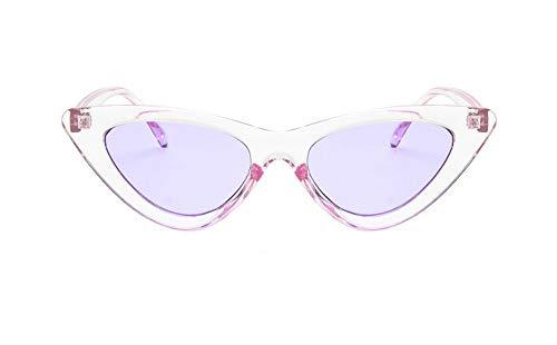 n, Fgrayion Lady Süße Katze Auge Sonnenbrille Frauen Kleine Frame Sonnenbrillen Für Weibliche U 400 Lila Rahmen Lila Objektiv ()