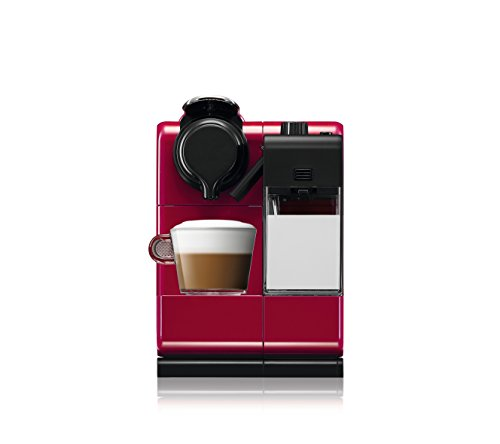 De'Longhi Nespresso EN550.R Lattissima Touch Automatic Coffee Machine – Glam Red