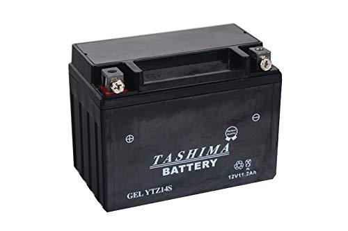 Batteria Tashima YTZ14S 12 V 11,2 Ah (consegnata pronta all'uso)
