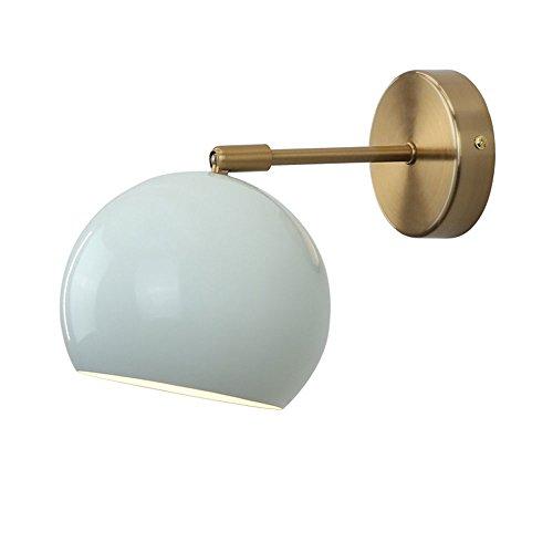 Desinger Überzug justierbarer Downlight-Spiegel-Licht-Ball-Eisen las Wand-Leuchter-Wand-Lampen-Schlafzimmer-Studien-Nachttisch-Badezimmer-Wohnzimmer-Wand-Licht-moderne Kreativität Nordeuropa-einfache