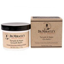 Dr. Miracle Temple & Nape Gro Balm - Regular by Dr. Miracle's - Nape Gro Balm