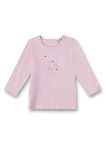Sanetta Baby-Mädchen Shirt Langarmshirt, Rosa (Magnolie 3609.0), 68 - Magnolia Blumen-print