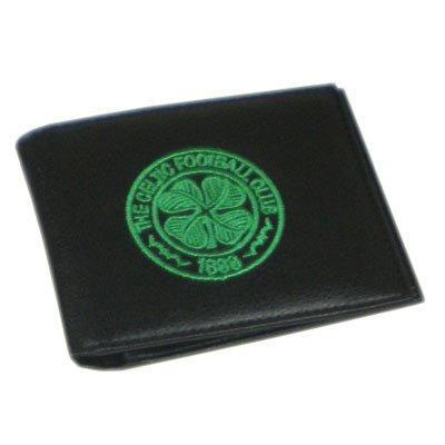New-Official-Football-Club-Embroidered-Leather-Wallets-Celtic-FC-Crest
