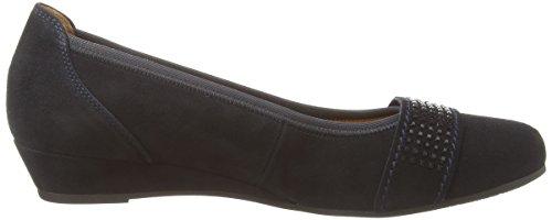 Gabor Shoes 32.69 Damen Geschlossene Ballerinas Blau (nightblue (schwarz) 46)