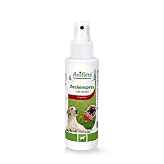aniforte 100 ml tick spray for dogs, natural permanent tick removal, protection with lavender oil, lemon oil, without chemicals AniForte 100 ml tick spray for dogs, natural permanent tick removal, protection with lavender oil, lemon oil, without chemicals 31xwPwfXFTL