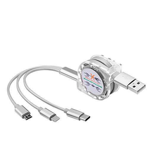 Preisvergleich Produktbild periwinkLuQ KK1IU1O2A1 USB-Kabel,  Silber