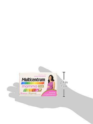 Multicentrum Mamma Dha 30+ - 30 Compresse Capsule Molli, Integratore alimentare multivitaminico multiminerale adatto a… 4 spesavip