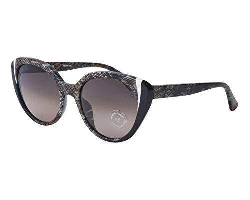 Etnia Barcelona Sonnenbrillen (SENA GDBK) gestreift braun - schwarz - grau-braun verlaufend