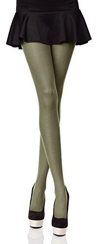 Merry Style Blickdichte Damen Strumpfhose Microfaser 70 DEN (Smaragd, 3 (36-40))