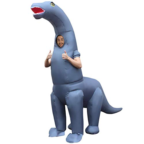 Aufblasbare Dinosaurier Erwachsene Kostüm Für - Morph MCGIDI Aufblasbares Kostüm, Unisex, Diplodocus Dinosaurier, Einheitsgröße Erwachsene