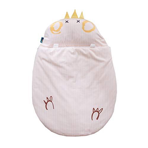 JSIHENA Gigoteuse Bébé Manches Grenouillère en Coton Enfant Automne et Hiver Sac de Couchage bébé Mignon épaississement câlin Coton Anti-Kick,Yellow