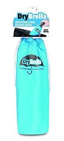 Drybrella Parapluie en microfibre à séchage rapide étui de rangement