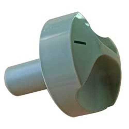 Dometic Drehknopf für Kühlschrank (Einheitsgröße) (Silber)