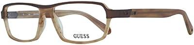 Guess Brille Gu1790 D96 55 Monturas de gafas, Marrón (Braun), 55.0 para Hombre