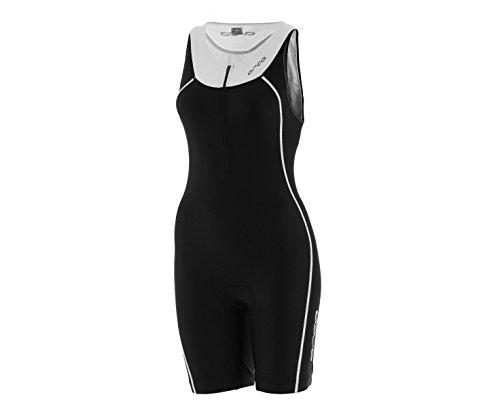 ORCA Core Basic Damen Rennanzug, Schwarz/Weiß, S