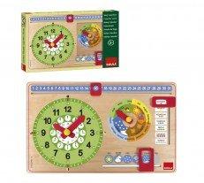 Goula Reloj calendario, en italiano (Diset 51320) por Diset