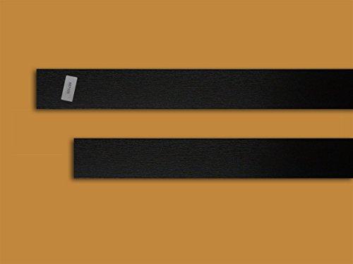 Fensterleiste schokobraun 40 mm breit 6 m lang 2,5 mm dick Flachleiste Abdeckleiste Dekor Leiste farbig