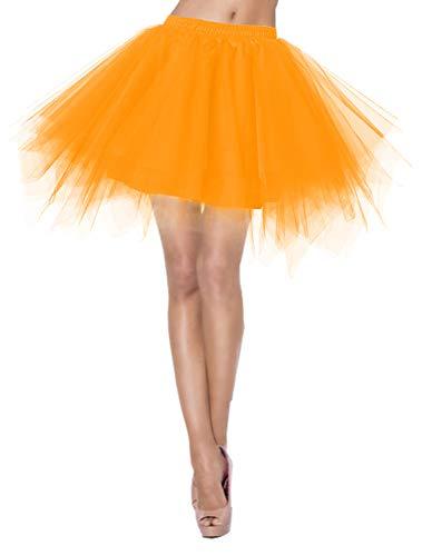 Petticoat TutuUnterrock Underskirt für Rockabilly Kleid 1950 Tüllrock Tütü Crinoline Reifrock...