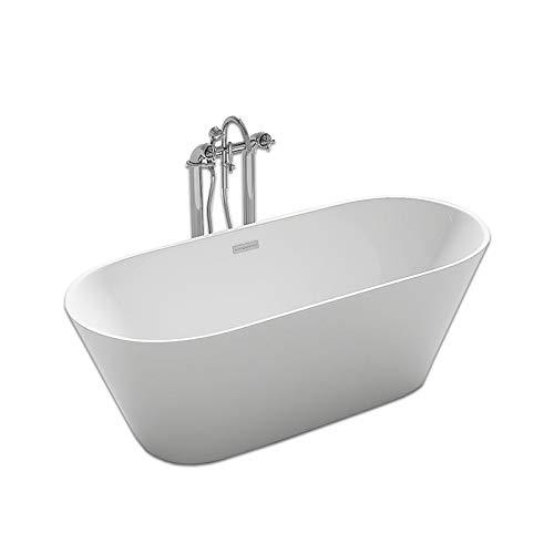 Home Deluxe - freistehende Design Badewanne - Rondo